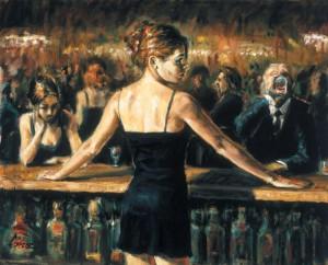 ballerina al bar