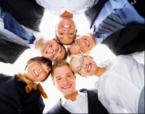 Multi-ethnic group portrait