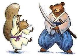 orso e scoiattolo