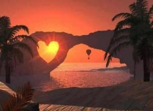 tramonto nel cuore